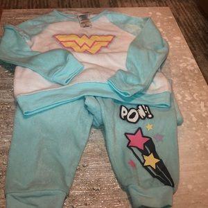 Other - Fuzzy Wonder Woman Jammies